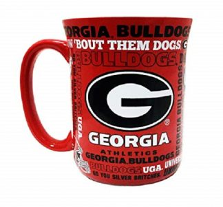 Georgia Bulldogs Spirit Coffee Mug 17 oz