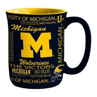 Michigan Wolverines Spirit Coffee Mug 1