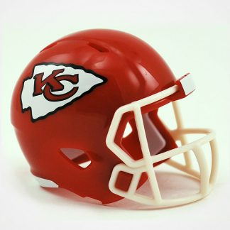 Kansas City Chiefs Pocket Pro Speed Helmet