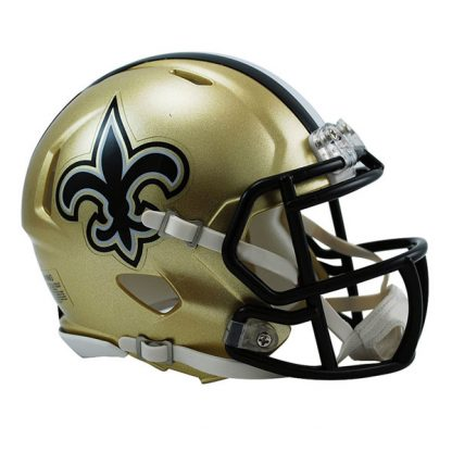 New Orleans Saints Mini Speed Helmet