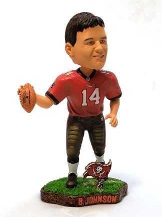 Buccaneers Brad Johnson Turf Base Bobble