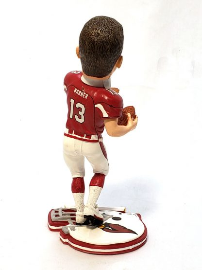 Cardinals Kurt Warner Helmet Base Bobble 2