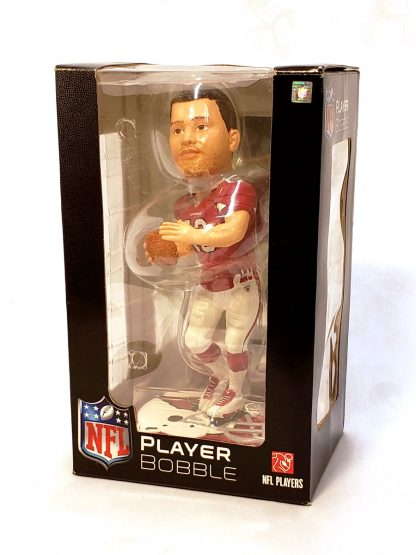 Cardinals Kurt Warner Helmet Base Bobble 3