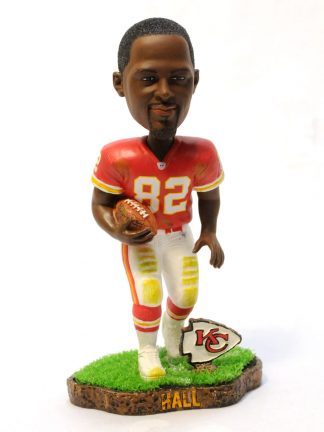 Chiefs Dante Hall Turf Base Bobblehead
