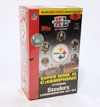2006 Pittsburgh Steelers Champions Set