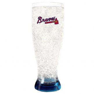 Atlanta Braves Crystal Freezer Pilsner