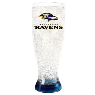 Baltimore Ravens Crystal Freezer Pilsner