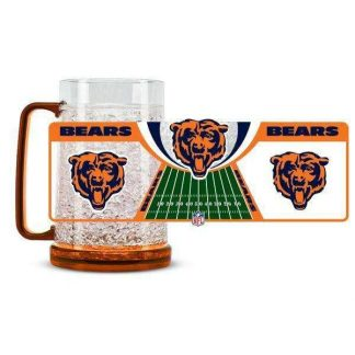 Chicago Bears Crystal Freezer Mug