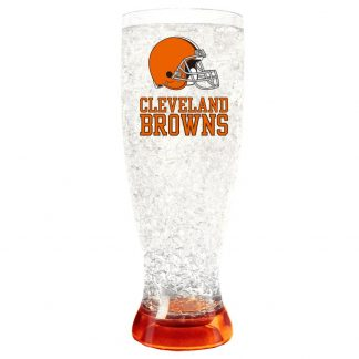 Cleveland Browns Crystal Freezer Pilsner