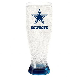 Dallas Cowboys Crystal Freezer Pilsner