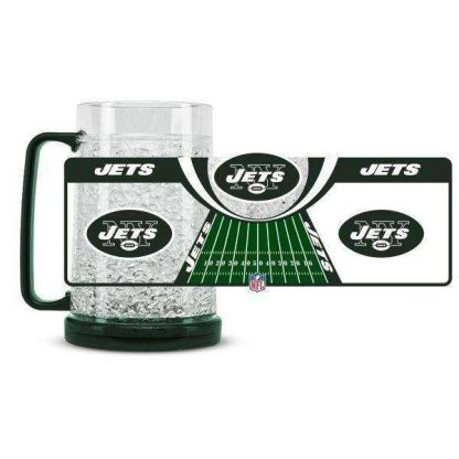 New York Jets Crystal Freezer Mug