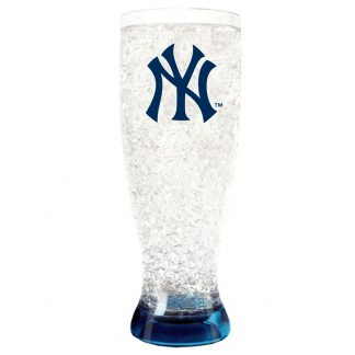 New York Yankees Crystal Freezer Pilsner