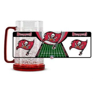 Tampa Bay Buccaneers Crystal Freezer Mug