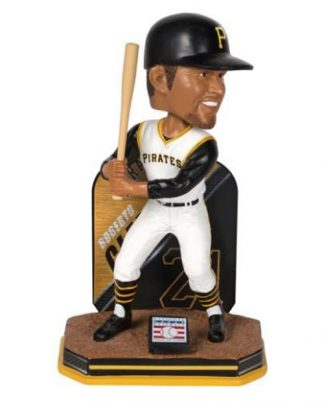 Pittsburgh Pirates Clemente Name Number Bobble
