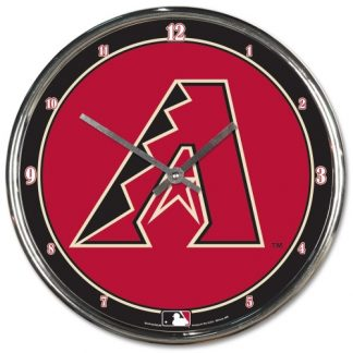 Arizona Diamondbacks Chrome Team Clock