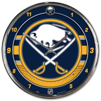 Buffalo Sabres Chrome Team Clock