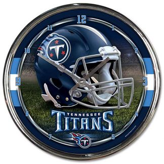 Tennessee Titans Chrome Team Clock