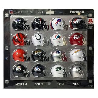 AFC Conference Pocket Size Helmet Set