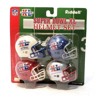 Riddell Super Bowl XL helmet set