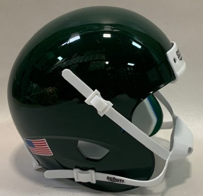 Dark Green Blank XP Mini Helmet