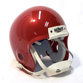 Schutt Mini Helmet Metallic Sooner Crimson