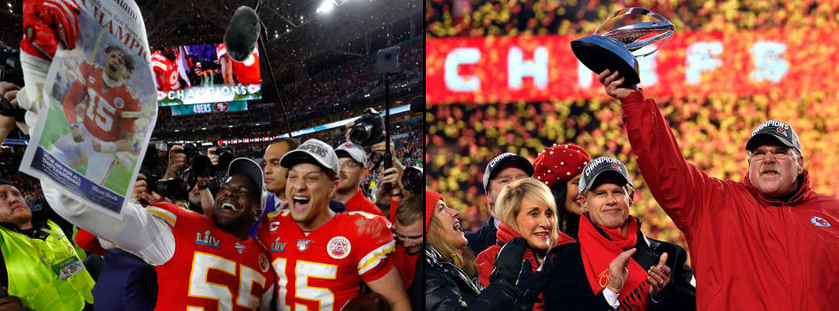 Super Bowl LIV Champions KC Chiefs