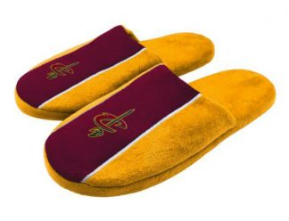 Cleveland Cavaliers stripe slippers