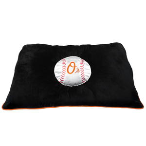 Baltimore Orioles - Pet Pillow Bed