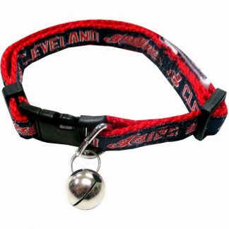 Cleveland Indians cat collar