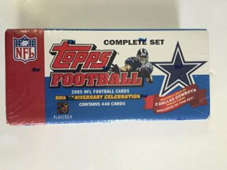 2005 Topps Football Factory Complete Set Dallas Cowboys