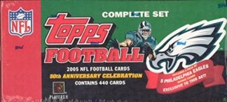 2005 Topps Football Factory Complete Set Philadelphia Eagles