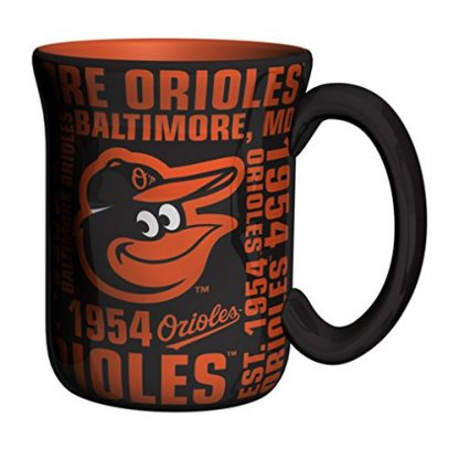 Baltimore Orioles Spirit Coffee Mug 17 oz