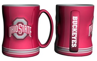 Ohio-State-Buckeyes-Coffee-Mug-14oz-Sculpted-Relief