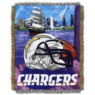 Los-Angeles-Chargers-Woven-Tapestry-Throw-Blanket
