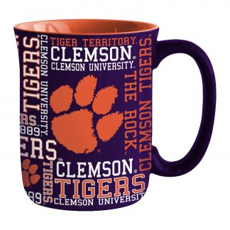 Clemson Tigers Spirit Coffee Mug 17 oz