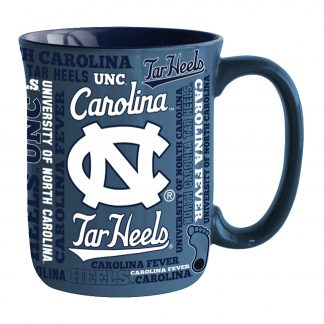 North Carolina Tar Heels Spirit Coffee Mug 17 oz