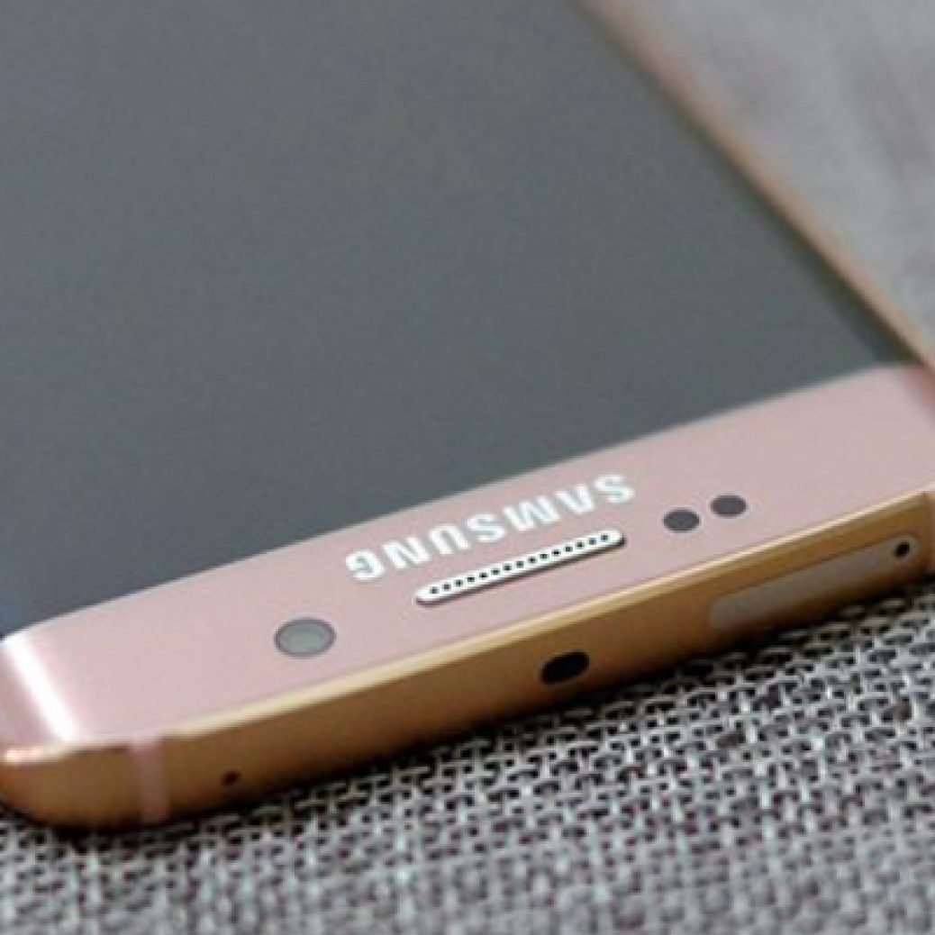 Samsung Galaxy S6 edge Pink Gold Color Feature
