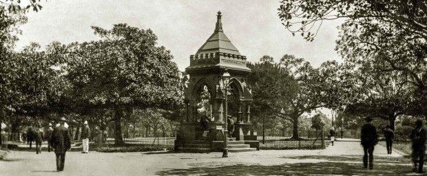 WP Frazer fountain original location 1906 Please credit City of Sydney Archives 620x256