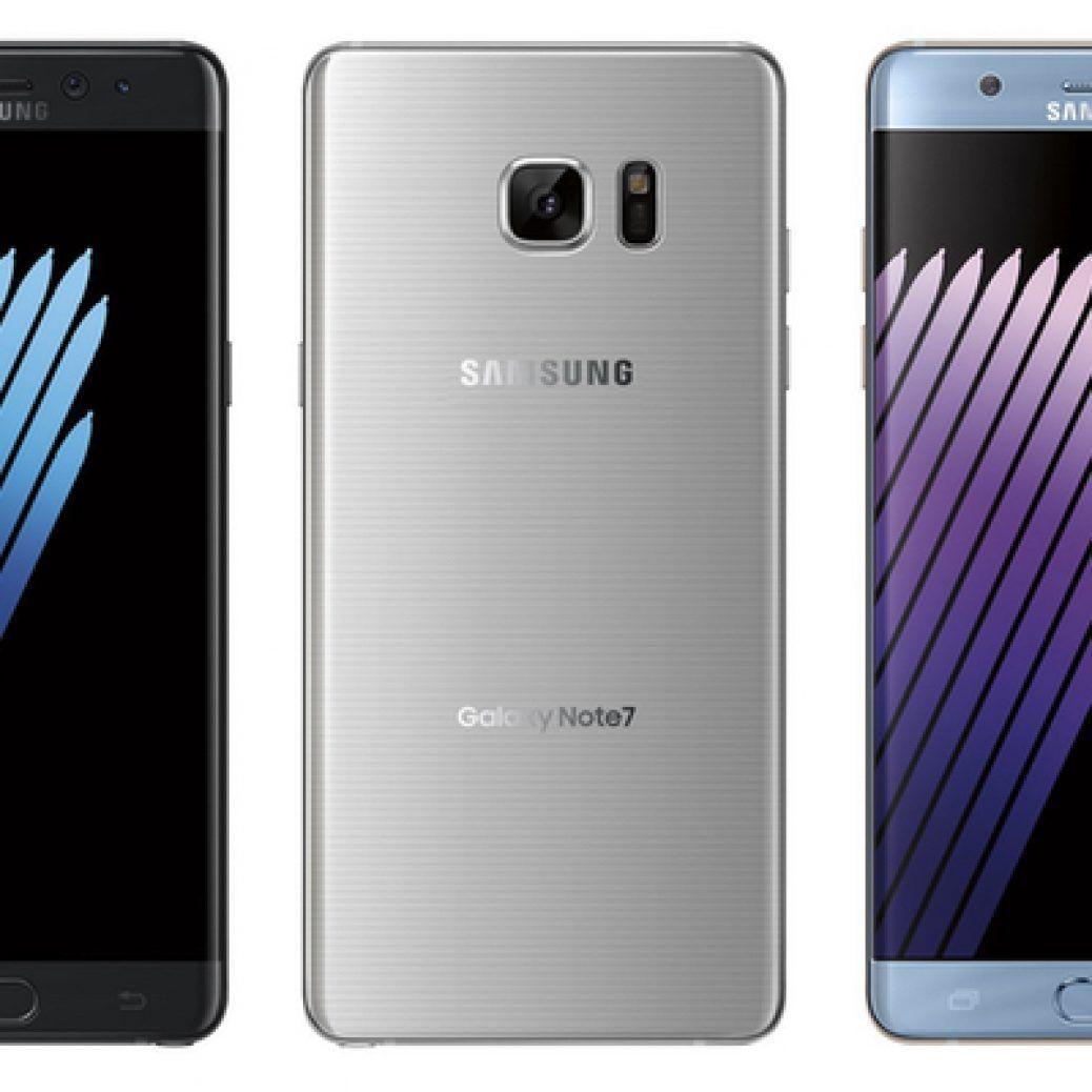 Samsung Galaxy Note 7 Colors