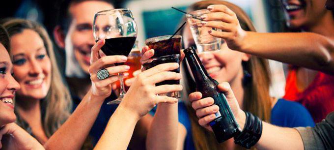 Kompromisse für Alkohol ist wie