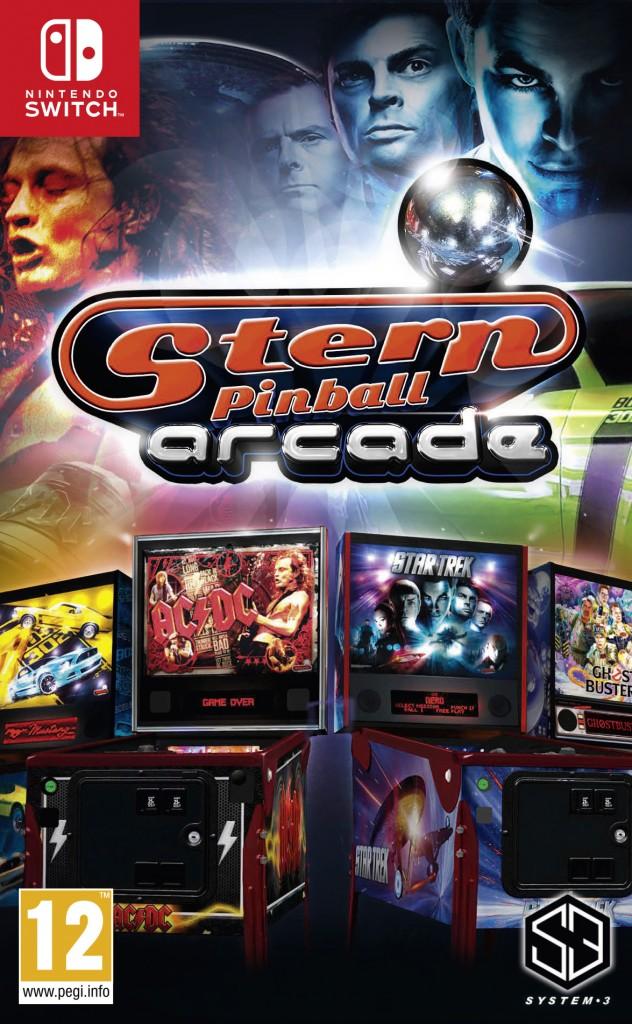 System 3 Stern Pinball Arcade Switch
