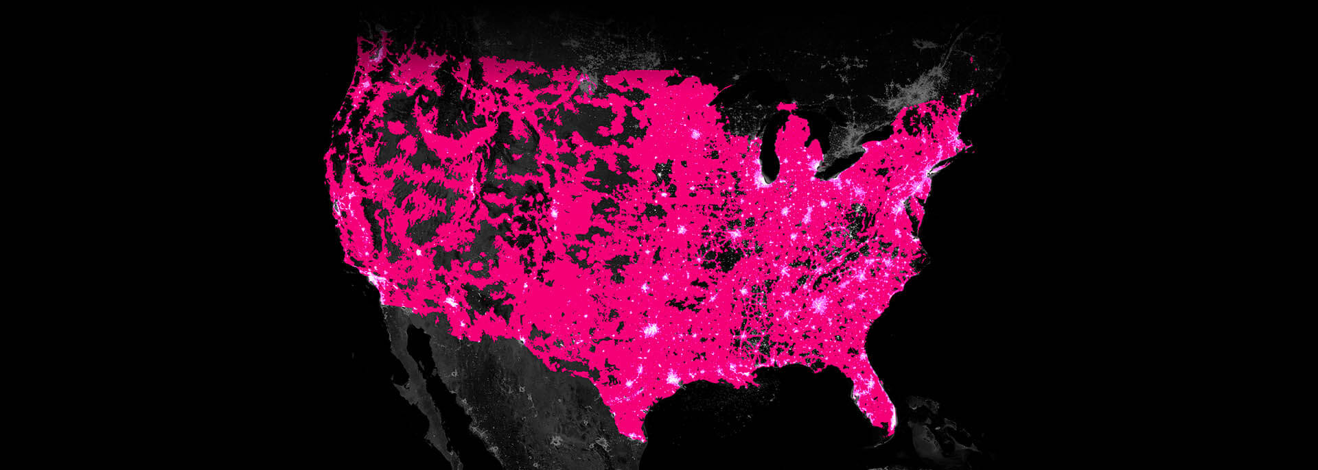4G LTE Network   4G Network Built for Unlimited Coverage   T Mobile See