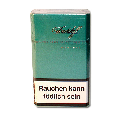 Davidoff Menthol (Zigaretten) - Tabak and more...