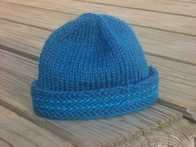 Easy Free Toddler Knit Hat