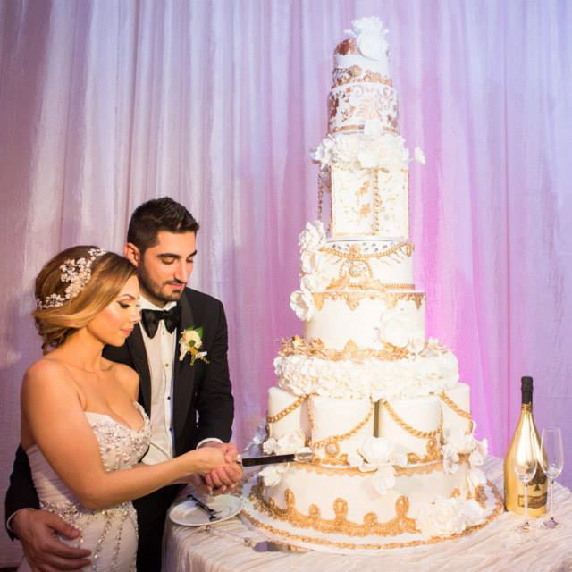 Magnificent Wedding Cakes For Your Los Angeles Event At Taglyan Edward and Lena s Wedding Cake at Taglyan Complex