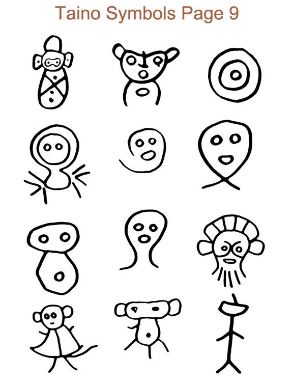 Puerto Rican Tribal Symbols