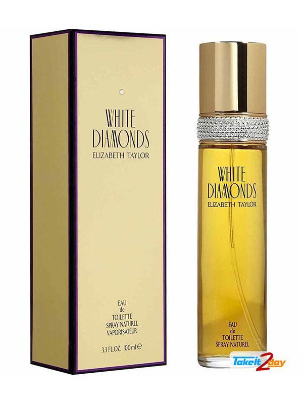 Elizabeth Arden White Diamond Perfume For Woman 100 ML EDT