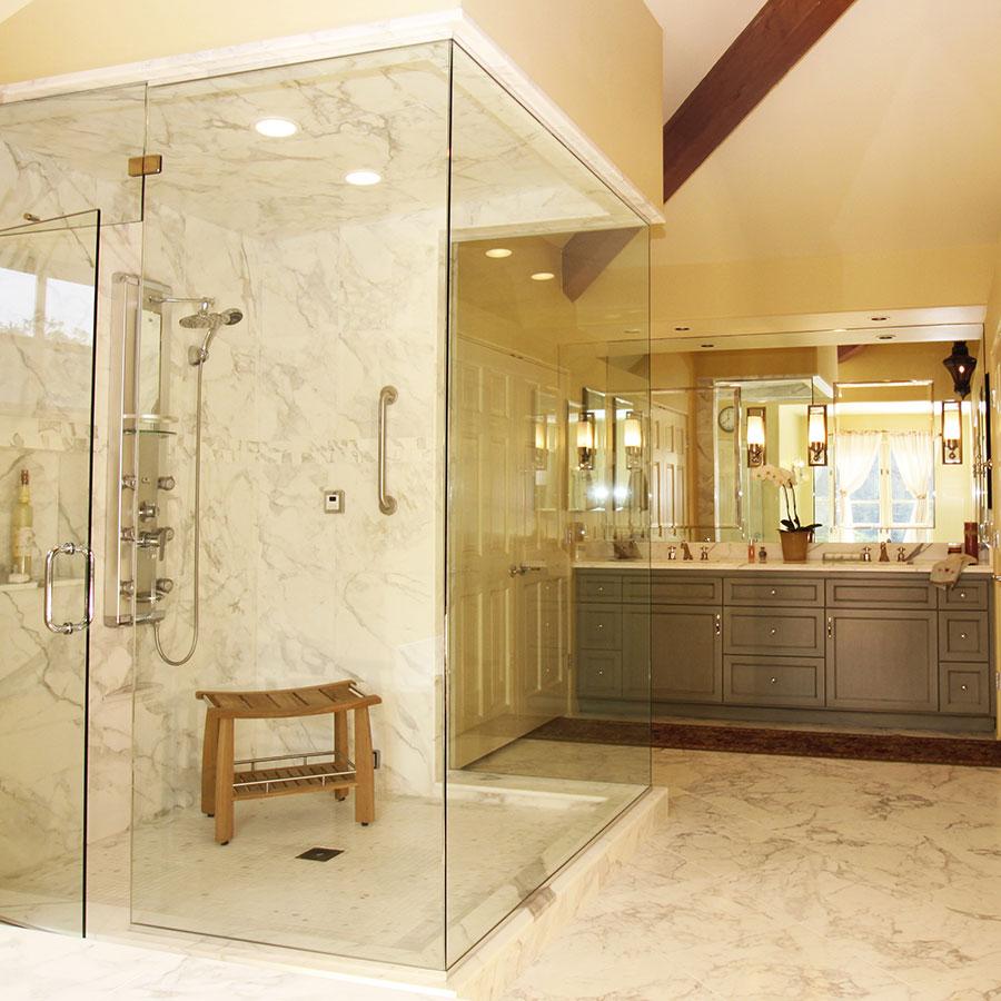 Best Kitchen Gallery: Custom Bathroom Remodeling Contractors Santa Cruz Talmadge of Custom Bathroom Design  on rachelxblog.com