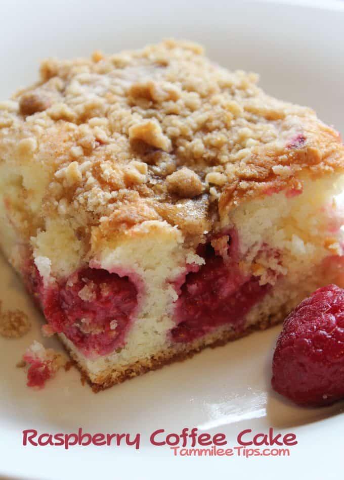 Raspberry Coffee Cake Recipe