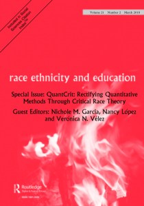 Full Article: QuantCrit: Education, Policy, 'Big Data' And Principles For A Critical  Race Theory Of Statistics